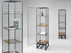 - Iron wardrobe with 1 door LES VOLERES | Wardrobe with 1 door - Seletti