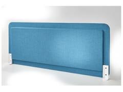 Pannello divisorio da scrivania fonoassorbente in tessutoLET - ACOUSTIKUS