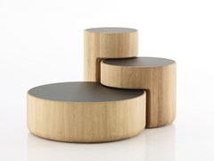 - Oak coffee table LEVELS | Coffee table - PER/USE
