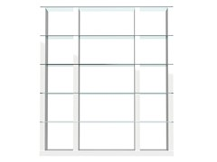 - Open freestanding divider bookcase LIB | Double-sided bookcase - Calligaris