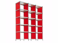 - Open modular bookcase LIB010 - SEC_lib010 - Alias