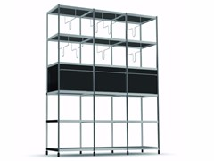 - Open modular bookcase LIB012 - SEC_lib012 - Alias