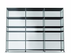 - Open modular methacrylate bookcase LIB013 - SEC_lib013 - Alias