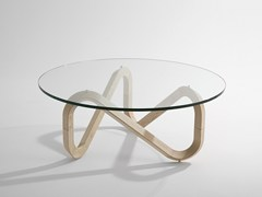 - Wooden coffee table LIBRA | Wooden coffee table - KUBIKOFF