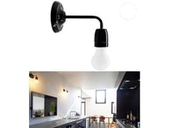 - Contemporary style Ceramic materials wall lamp with fixed arm LIGHT 039 - ZANGRA