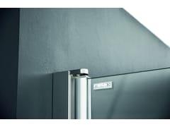 Parete per vasca in alluminio e vetroLIGHT VP2 - RELAX