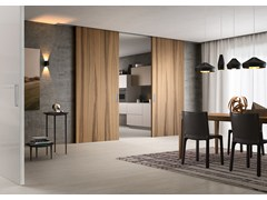 - SLIDING WOODEN DOOR LIGNUM - FERREROLEGNO