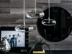 - Borosilicate glass pendant lamp LIM - Cattelan Italia