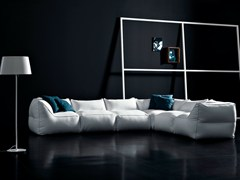 - Sectional modular fabric sofa with removable cover LIMBO | Sofa - PIANCA