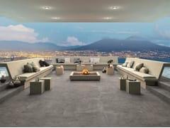 - Porcelain stoneware outdoor floor tiles with stone effect LIMESTONE DEEP | Outdoor floor tiles - FMG Fabbrica Marmi e Graniti
