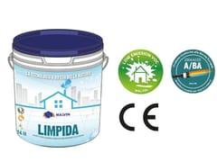 Idropittura acrilica lavabile traspiranteLIMPIDA - MALVIN