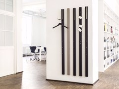 - Wall-mounted MDF coat rack LINE | Coat rack - Schönbuch