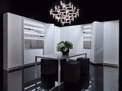 - Linear Corian® kitchen LINE | Corian® kitchen - RIFRA