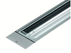- Fluorescent extruded aluminium Floor Light LINE F.1004 - Francesconi & C.