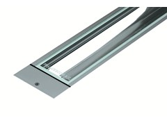- Fluorescent extruded aluminium Floor Light LINE F.1006 - Francesconi & C.