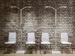 - LED floor lamp LINEAR FLOOR TWIN - LUCTRA®