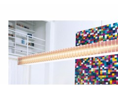 - Fluorescent polycarbonate pendant lamp LISCA S2 - Rotaliana