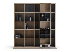 - Open wall-mounted bookcase LITERATURA LIGHT - Punt