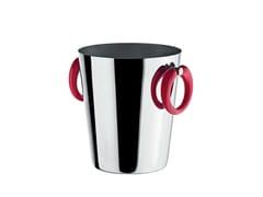 - Stainless steel ice bucket LITTLE POP - MOON BAR - ALESSI