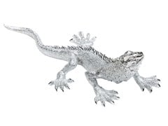 - Resin decorative object LIZARD SMALL CHROME - KARE-DESIGN
