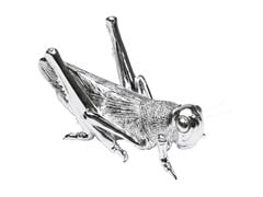 - Resin decorative object LOCUST CHROME - KARE-DESIGN