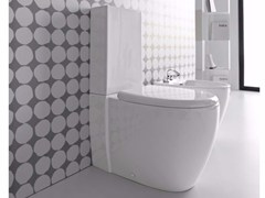 - Close coupled ceramic toilet LOFT | Close coupled toilet - Hidra Ceramica