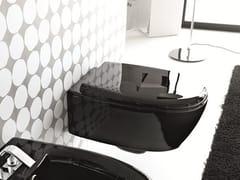 - Ceramic toilet LOFT | Wall-hung toilet - Hidra Ceramica