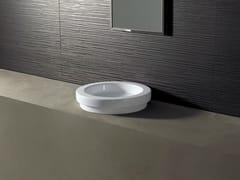 - Round ceramic washbasin LOGIC Ø43 - Alice Ceramica