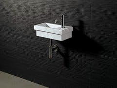 - Rectangular ceramic washbasin LOGIC 42X22 - Alice Ceramica