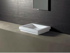 - Rectangular ceramic washbasin LOGIC 50X40 - Alice Ceramica