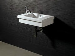 - Rectangular ceramic washbasin LOGIC 60X35 - Alice Ceramica