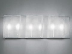 - Direct-indirect light blown glass wall lamp LOGICO 3 | Wall lamp - Artemide Italia