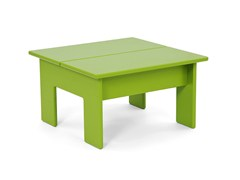 - Recycled plastic coffee table LOLLYGAGGER | Square coffee table - Loll Designs