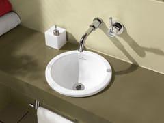 - Inset ceramic washbasin LOOP & FRIENDS | Inset washbasin - Villeroy & Boch