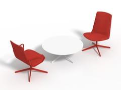 - Fabric task chair with 4-Spoke base LOTTUS LOUNGE ALTO - ENEA
