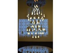 Lampadario a LED fatta a mano in porcellanaLOUIS 15   Lampadario - BEAU & BIEN