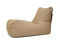 - Upholstered fabric lounge chair LOUNGE HOME - Pusku pusku