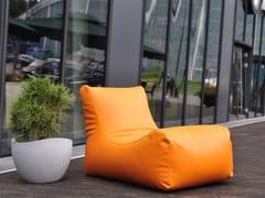 - Upholstered imitation leather lounge chair LOUNGE OUTSIDE - Pusku pusku