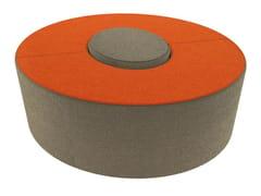 - Fabric pouf LOVE LETTERS O - Segis