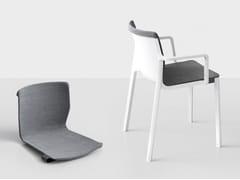 - Upholstered chair LP PADDED - Kristalia