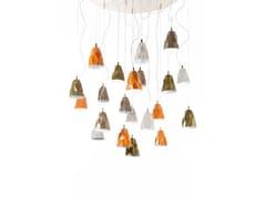- Direct light glass pendant lamp LUMÈ | Glass pendant lamp - IDL EXPORT