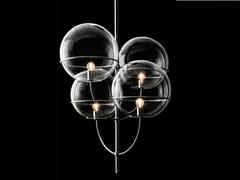 Lampada a sospensione in vetroLYNDON - 450 - OLUCE