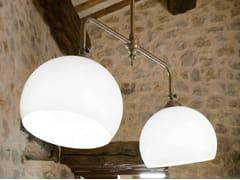 - Glass pendant lamp FARMACIA | Direct-indirect light pendant lamp - Aldo Bernardi