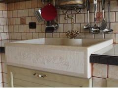 - Single calcareous stone sink Single sink - Sgarlata Emanuele & C.