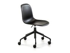 Sedia ufficio operativa ad altezza regolabile con ruoteMÁNI PLASTIC HO - ARRMET