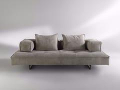 - Sled base 2 seater Nabuk sofa M1 | 2 seater sofa - ALBEDO S.r.l. Unipersonale