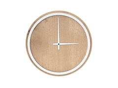 - Wall-mounted oak clock MADERA | Oak clock - Otono Design