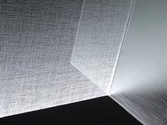 Vetro decorato satinato MADRAS® LINO MATE' - VITREALSPECCHI