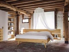 Camera da letto in legno masselloMAESTRALE M07 - SCANDOLA MOBILI