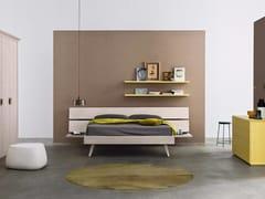 Camera da letto in legno masselloMAESTRALE M11 - SCANDOLA MOBILI